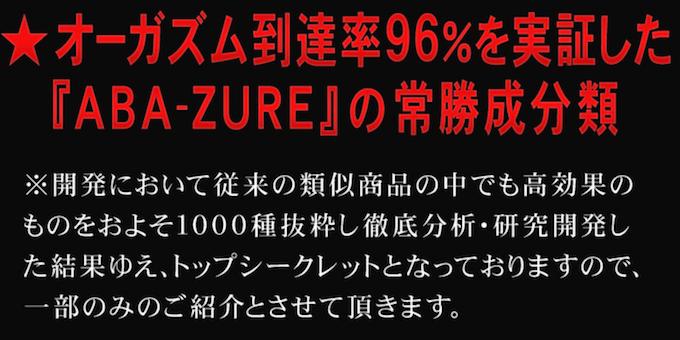 女性用媚薬ABA-ZURE