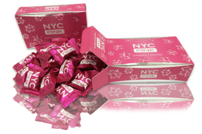 NYC Pinkキャンディー